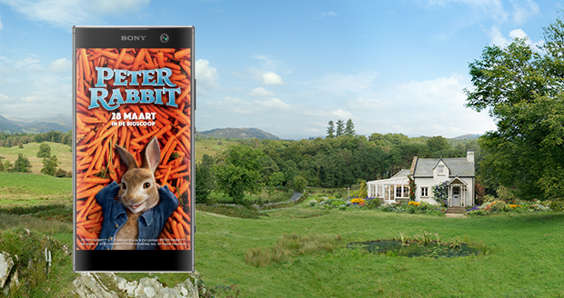 Sony Xperia XA2 Peter Rabbit groot